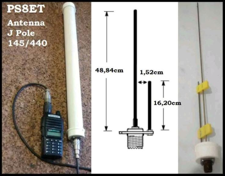 antena j bibanda portatil